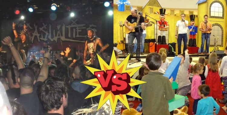 Punk music VS Kids music